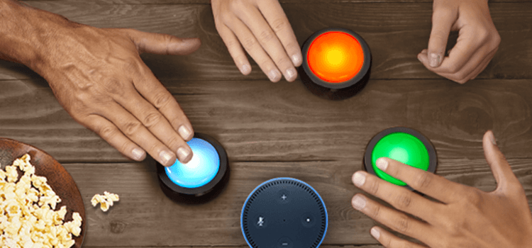 Echo Buttons – Alexa lernt spielen