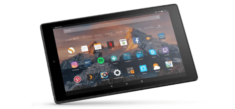 Neues Fire HD 10-Tablet mit Hands-free Alexa-Integration