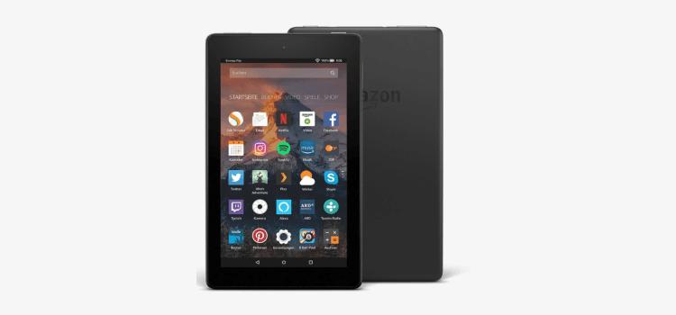 Fire 7-Tablet mit Alexa im Doppelpack für 60,- Euro