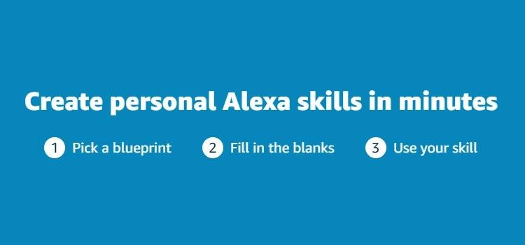 Alexa Skill Blueprints – Skills für den privaten Gebrauch erstellen