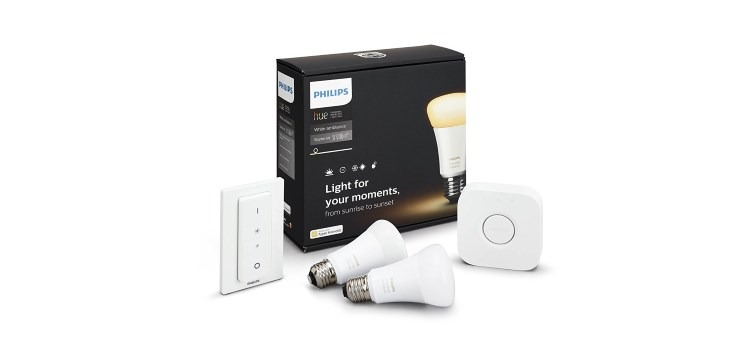 Philips Hue White Ambiance E27 Starter Set als Angebot des Tages