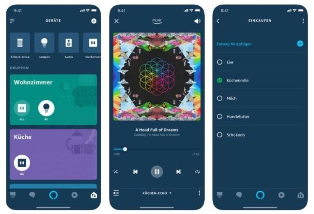 Alexa App iOS