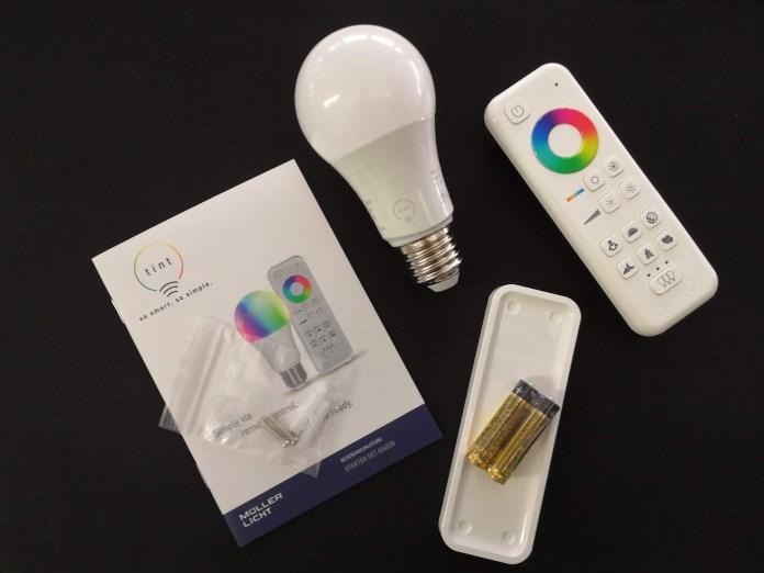 tint Smart Lights Starter-Set farbig E27