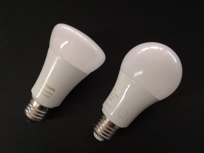 Vergleich Philips Hue und tint Smart Lights
