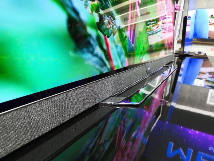 Tolle Verarbeitung bei OLED-TV von METZ