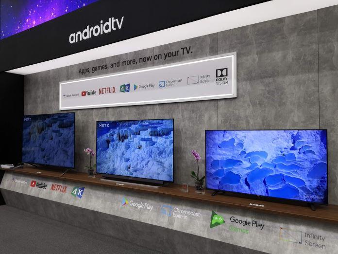 Android TV mit vielen Quellen